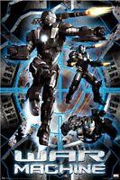 Movie Poster Iron Man 2 War Machine Target