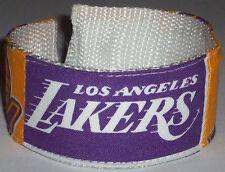Los Angeles Lakers Wristband Basketball NBA Pro Shop Team Apparel Fan Game Gear