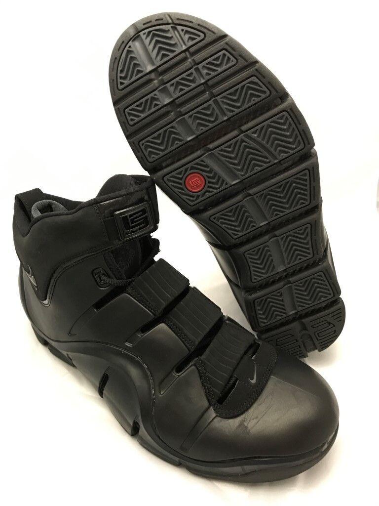 NEW DS Nike Zoom LeBron IV (4) Blackout EAST COAST 314647 2006 Size 11 Mens 314647 COAST 001 2e74ab