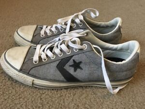 b9a616929b43 Image is loading Converse-Star-Player-EVO-Lo-Wool-Gray-Sneakers-