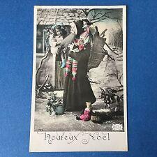 CPA Carte Ancienne PERE NOEL 1908 Postcard CHRISTMAS SANTA CLAUS