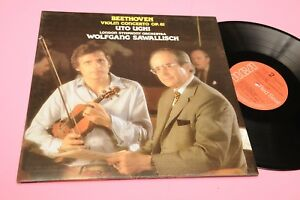 BEETHOVEN-UTO-UGHI-LP-VIOLIN-CONCERTO-ITALY-PRESS-STEREO-NM-TOP-CLASSICA