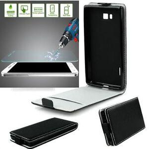 Samsung-Galaxy-Xcover-4-SLIM-FLEXI-Flip-Handy-Tasche-Klapp-Huelle-Panzerglas