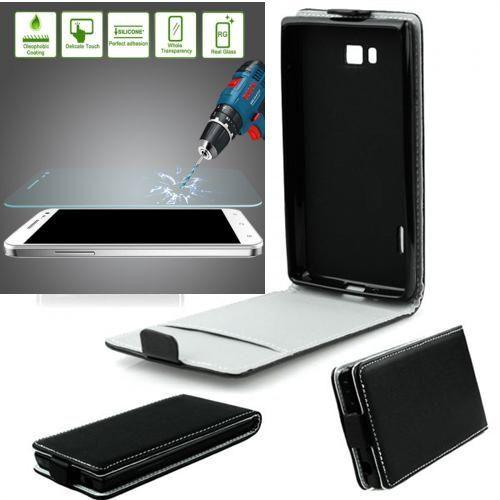 Samsung Galaxy Xcover 4 SLIM FLEXI Flip Handy Tasche Klapp Hülle +Panzerglas