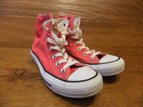 da 35 ginnastica rossa Stars All Sneakers Scarpe Ct Uk alte Converse tela taglia Eur 3 in qBxwaZx