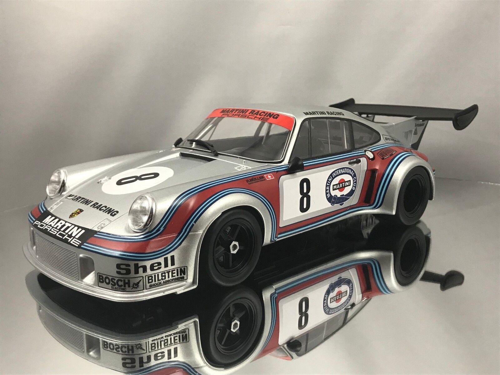 Norev Porsche 911 RSR Turbo 2.1 1974 Mkonstini tävlings Team N 65533;65533;erburgring 1 18