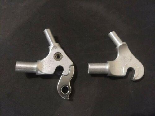 7005 Cadre en aluminium arrière Drop Out Paire L R avec der Hanger 64 Degrés
