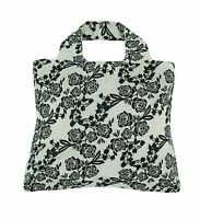 Envirosax Reusable Shopping Bag Black/white Free Shipping