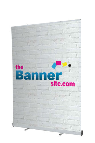 EXTRA WIDE 2M 200CM ROLLER BANNER PULL ROLL POP UP STAND