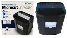 Royal Consumer 1005mc Micro Cut Paper Shredder 10 Sheet Black Costco1487782 Used