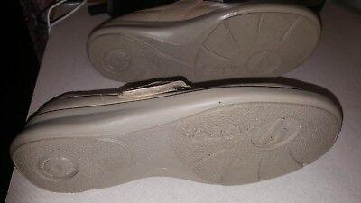 Señoras Easy B Beige Zapatos Talla 5 y Media UK