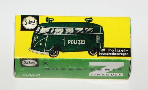 Reprobox siku V 212-policía-altavoces coche