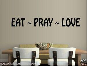 Eat Pray Love Kitchen Decor
