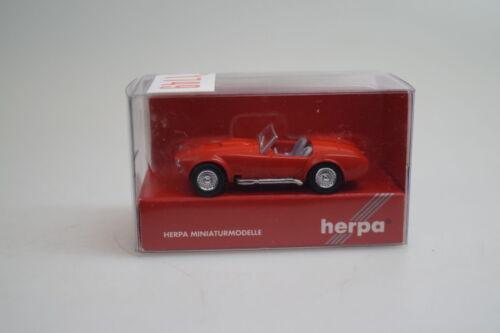 neu 1:87 Herpa 021975 AC Cobra rot