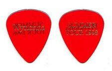 Wynonna Judd Clear Red Guitar Pick - 1998 Tour