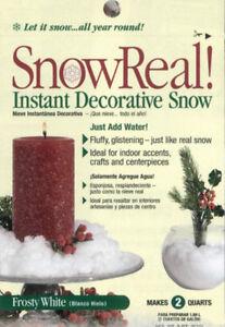 SnowReal Decorative Snow - Artificial Imitation Winter