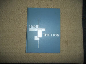 1960-RED-LION-PA-HIGH-SCHOOL-YEARBOOK-034-The-Lion-034-Nice