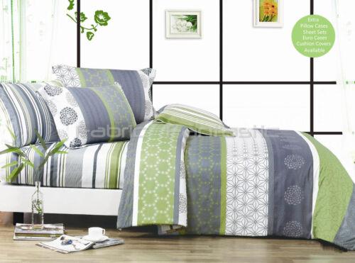 *DEXTER* Super King Size Bed Duvet//Doona//Quilt Cover Set New