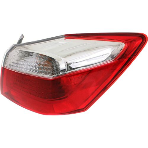 Halogen Tail Light For Right Side Outer 2013-2015 Honda Accord Sedan EX LX Sport