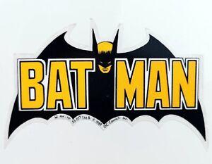 Batman-BAT-MAN-Aufkleber-Auto-Decal-Sticker-Fledermaus-Bat-11-cm-original-1989