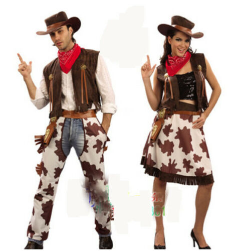 Adult-Halloween-Performances-Men-Womens-Cowboy-Costume-Couples-Costumes-Suit