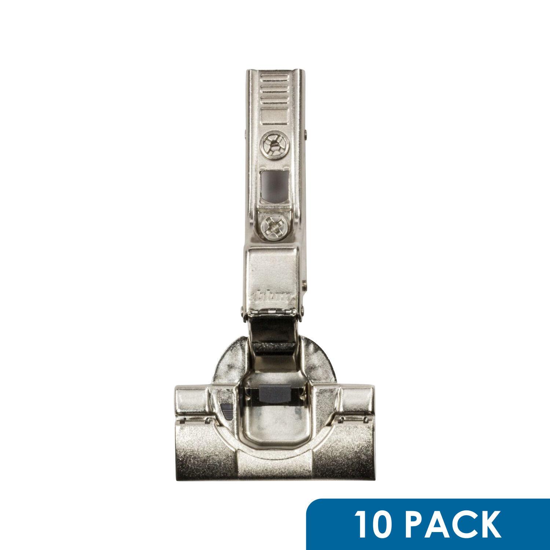 10 Blaum Clip Top Blaumotion 110 Deg Half Overlay Inserta Soft Close Hinge 71B3690