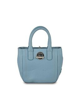 LAMARTHE-cute-leather-mini-bag-PARIS-borsa-piccola-donna-pelle-celeste-BNWT