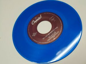 Beatles-Blue-45-The-Long-amp-Wi-For-You-Blue-S7-18989-MASTERED-BY-WALLY-TRAUGOTT
