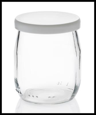 12 lids for yogurt pots 125 g