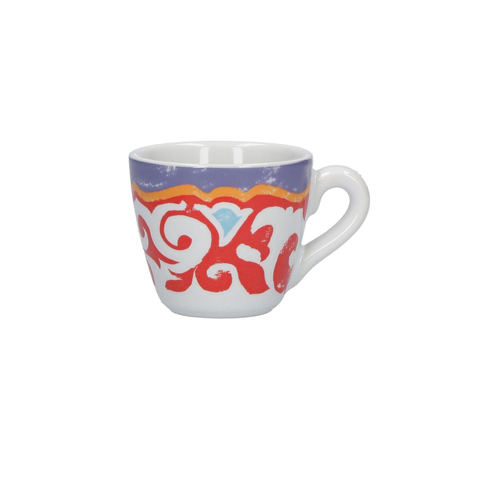 Rose e Tulipani - Nador 12 tazze Caffè Nador 6 piattini assortiti - Rivenditore