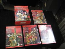 Record of Lodoss War: Chronicles of the Heroic Knight Boxed Set (DVD, 2000, 4-Disc Set)
