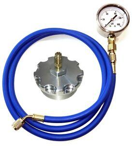 Fuel-Pressure-Test-Kit-w-Billet-Aluminum-Fuel-Filter-Cap-Ford-Powerstroke-6-0L