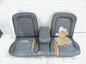 Incredible Details About 1965 1966 Mustang Front Bench Seat With Fold Down Arm Rest Ibusinesslaw Wood Chair Design Ideas Ibusinesslaworg