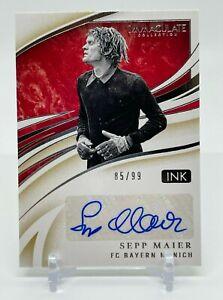 2020 Panini Immaculate Collection SEPP MAIER #85/99 Autograph FC Bayern Munich
