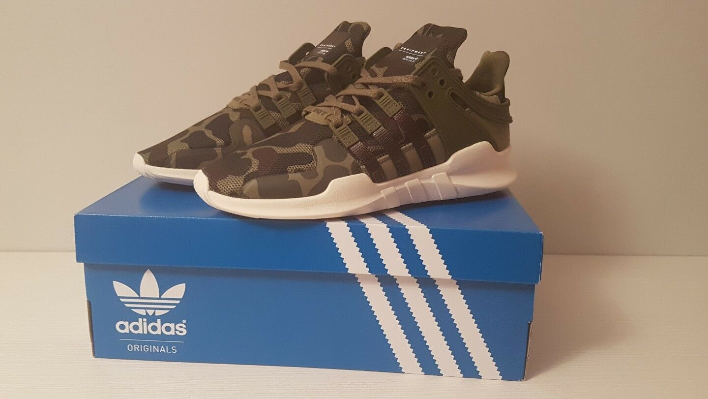 Adidas Originals EQT Support ADV 91-16 Camo Trainers US 7