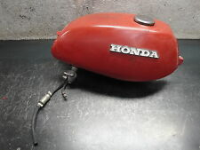 1972 72 HONDA CL100 CL 100 ROAD BIKE MOTORCYCLE GAS TANK RED CAP PETCOCK