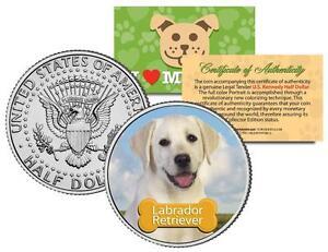 LABRADOR-RETRIEVER-U-S-JFK-HALF-034-The-Dogs-034-COIN