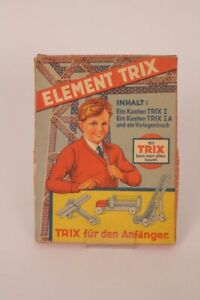 Element-Trix-Metal-Construction-Kit-for-The-Beginners-Collector-Box-Leer-Karton