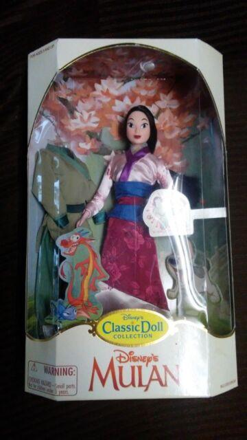 Park Exclusive Disney's Mulan Disney Princess Classic Doll Collection Mulan MIB