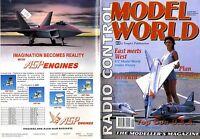 RADIO CONTROL MODEL WORLD MAGAZINE 1992 AUG COYOTE FEATURE, ST G4500 HERON