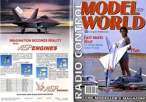 RADIO-CONTROL-MODEL-WORLD-MAGAZINE-1992-AUG-COYOTE-FEATURE-ST-G4500-HERON