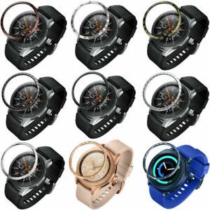 Metall-Luenette-Ring-Anti-Kratz-Schutz-Case-fuer-Samsung-Galaxy-Watch-42mm-46mm