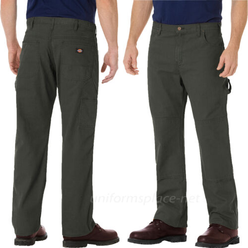 Coton Homme Relax Dickies Jeans Charpentier Jean Double Genou Du339 Coupe Work HqxzawEP