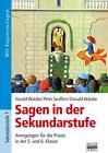 Sagen in der Sekundarstufe von Oswald Watzke und Peter Seuffert (2009, Taschenbuch)