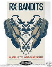 """RX BANDITS 2013 """"WHAT WE NEED RIGHT NOW IS LOVE TOUR"""" PORTLAND CONCERT POSTER"""