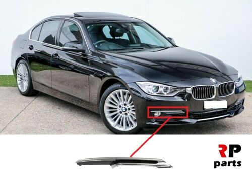 Per BMW 3 F30 F31 di lusso 12-16 Paraurti Anteriore Foglight Grille Chrome Trim DESTRA