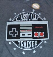 Nintendo Classically Trained Men's T-shirt Tee Officially Licensed Merchandise
