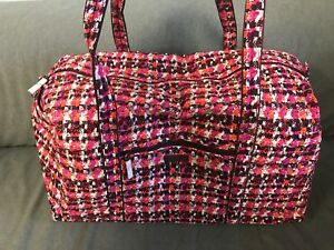 Bradley nieuw met 113 Tweed plunjezak Vera Houndstooth labels15460 grote K1cJFl