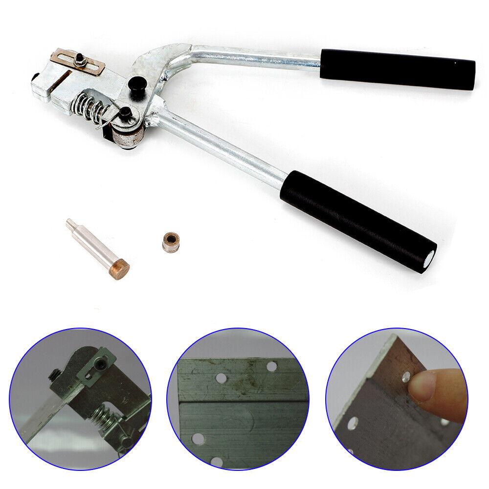 Metal Channel Letter Hole Punch Pliers Iron Sheet  1.5 mm Sheet Aluminum Puncher
