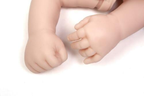 "Reborn Baby Doll Kit Soft Vinyl Head and 3//4 Limbs For Making 20-22/""Newborn Baby"